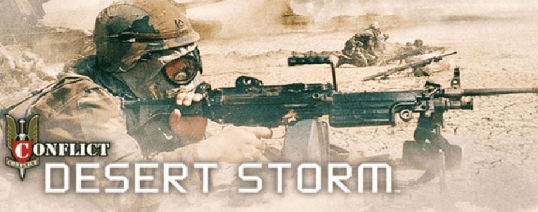 تحميل لعبة عاصفة الصحراء 1 Conflict Desert Storm مضغوطة مجانا