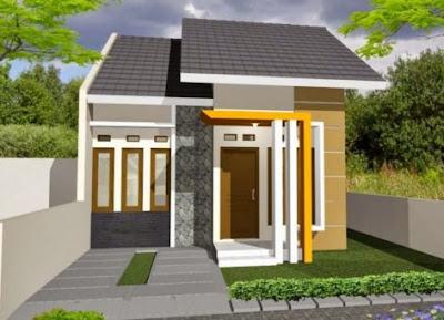 contoh desain atap rumah type 36
