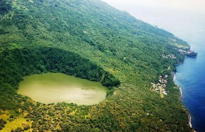 sejarah danau tolire yang mengejutkan