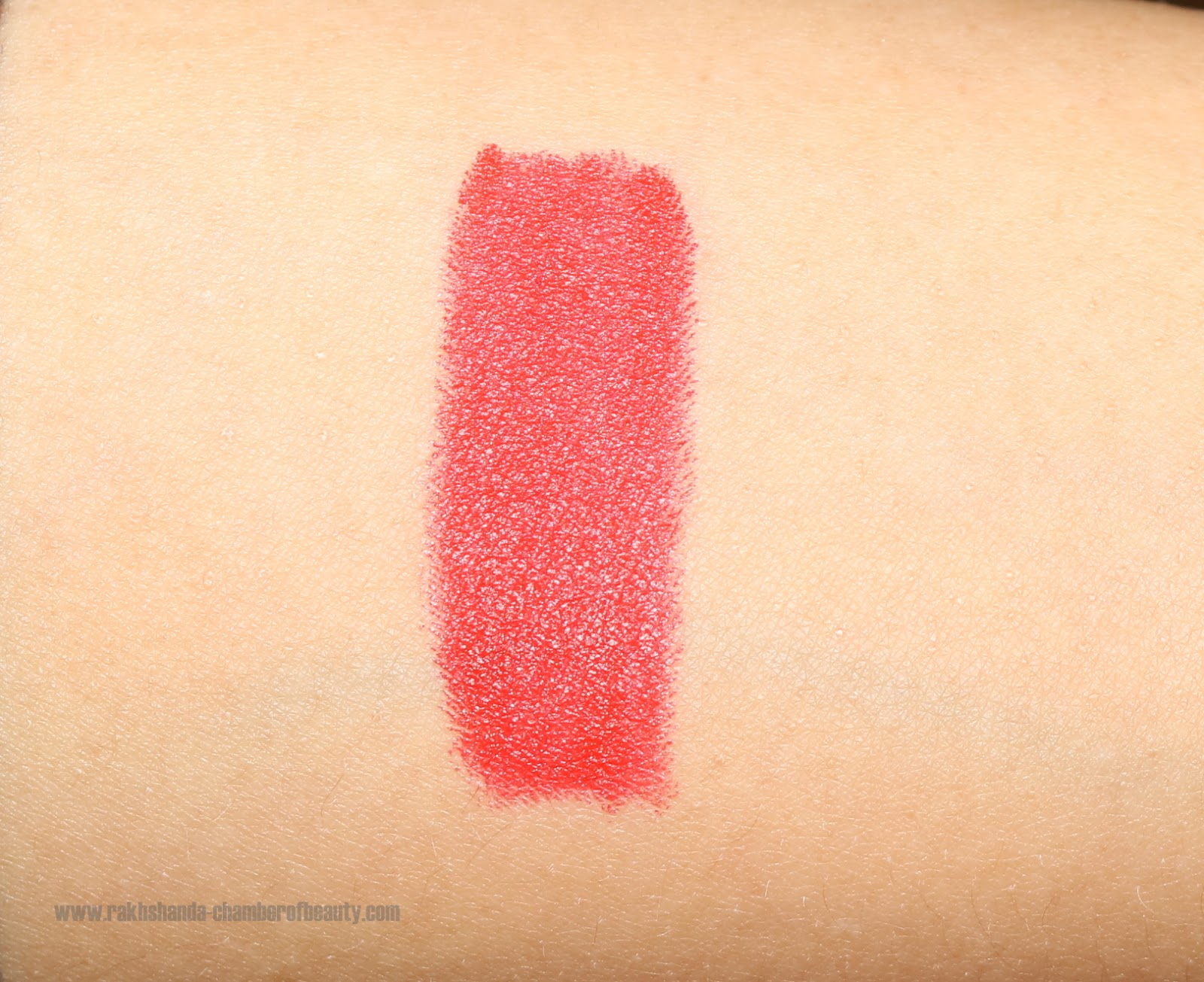MAC Ruby Woo dupe, NYX, NYX Cosmetics in India, NYX lipsticks in India, NYX Matte lipstick review, NYX Pure red Rouge Pur lipstick, red lips, review, review and swatches,