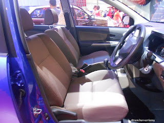 kursi depan dashboard new avanza