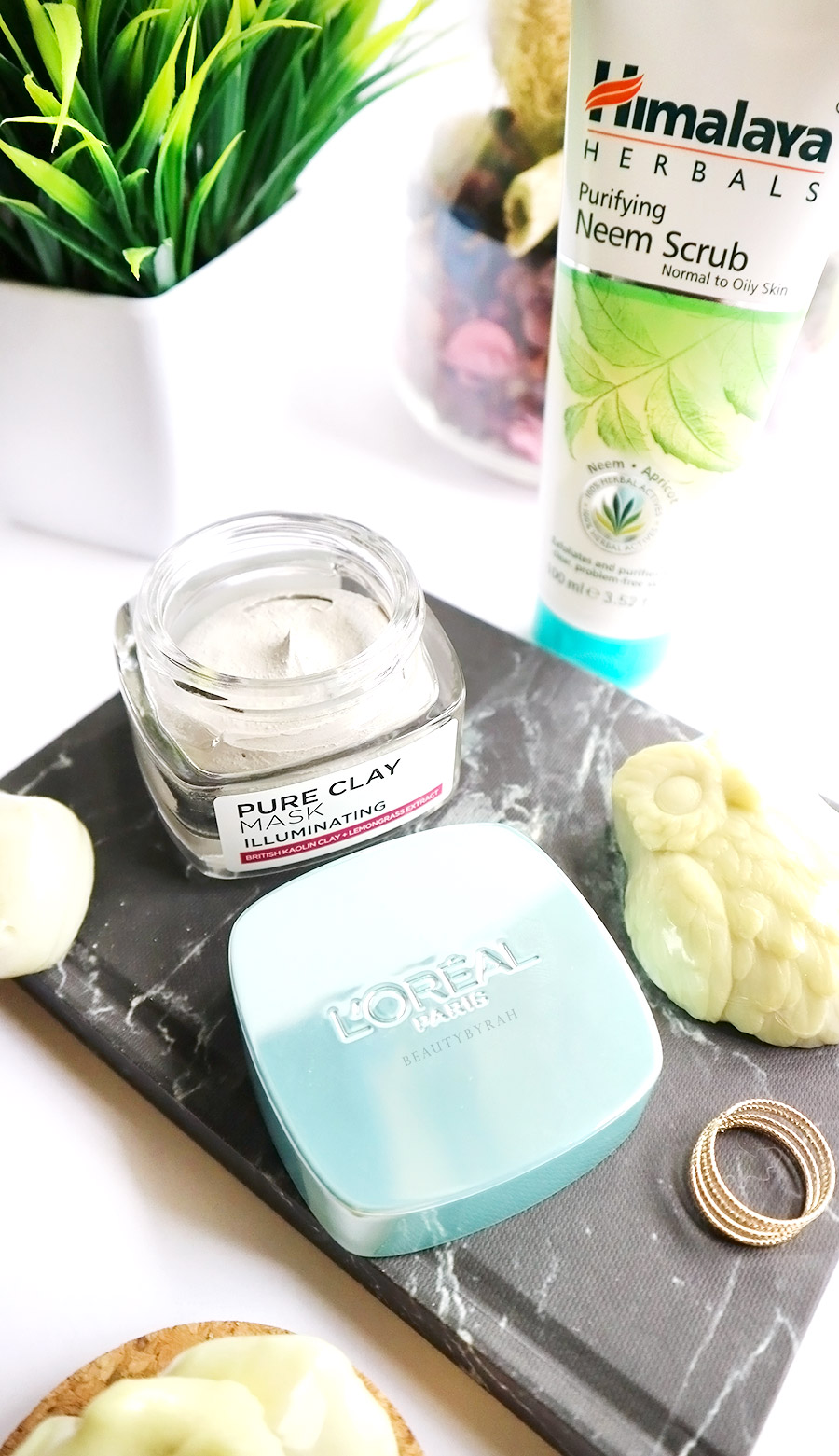 Loreal Illuminating Pure Clay Mask review
