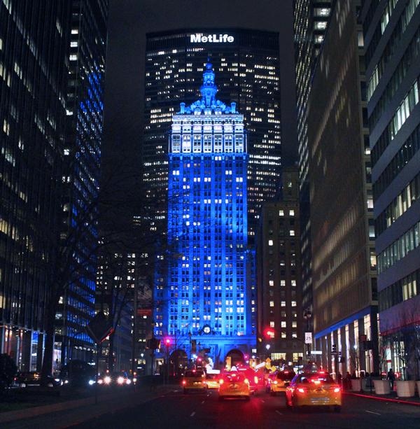 Met Life Building New York, Park Avenue, Park Avenue NYC