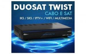 DUOSAT TWIST HD NOVA ATUALIZAÇÃO V7.7 - 31/07/2018
