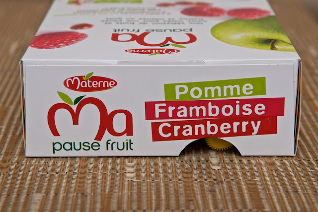 Ma Pause Fruit Pomme Framboise Cranberry Materne