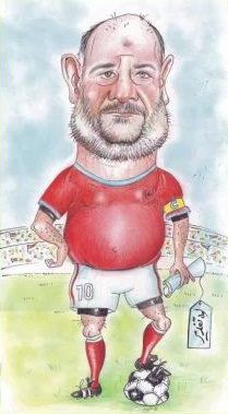 Iranian cartoonist sentenced to 25 lashes for cartoon of MP dressed as a footballer