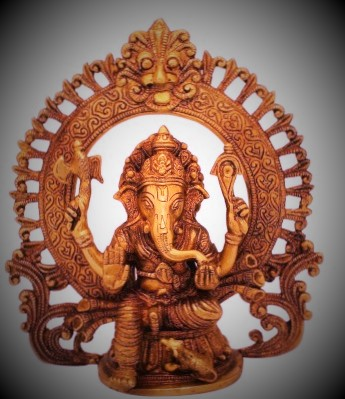 Handicraft - Ganesha Wooden Hand Carved