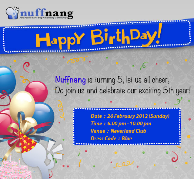 Nuffnang Stickman Birthday Celebration