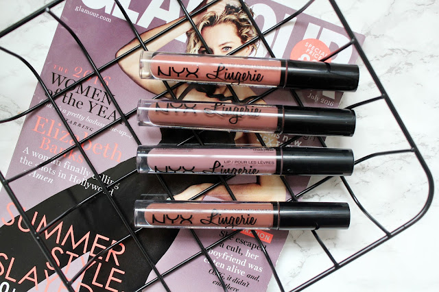 NYX Lip Lingerie Liquid Lipsticks Review