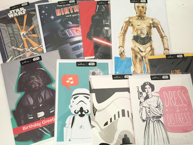 Star Wars greeting cards