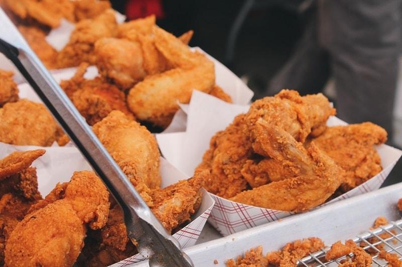 ขายไก่ทอด ขายของกินอะไรดี