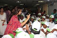 Shriya Saran and Meenakshi Dixit Pos at Quaker Feed A Child Campaign  0009.jpg