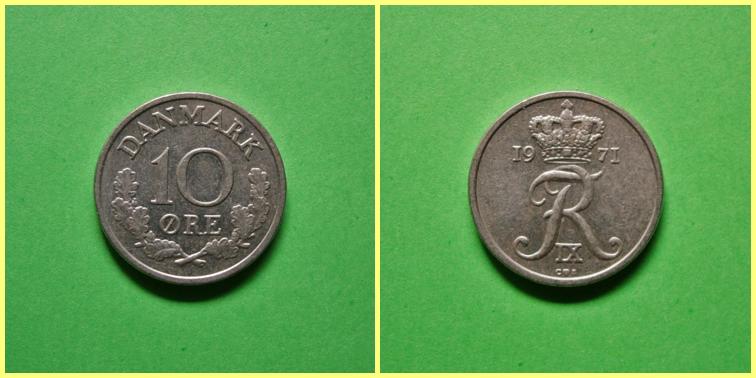 0.10 Coronas Danesas