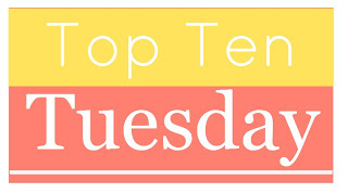 Top Ten Tuesday logo, Broke and the Bookish, blog feature, reading list,