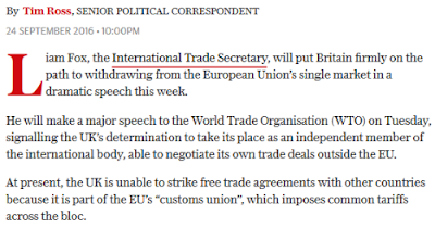 Do journalists even know what the single market and customs union are?