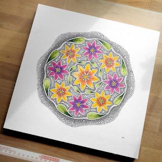 Mandala August Muster Mixer