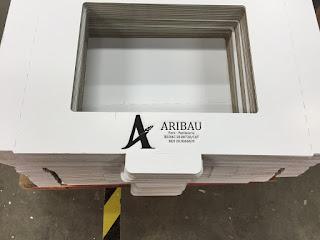 caja carton microcanal