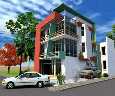 Model Rumah Minimalis 3 Lantai 2017
