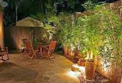 Kerennya Lampu Minimalis Lampu Taman Dari Bambu Ragam Kerajinan Tangan