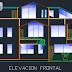 مخطط مشروع مسكن عائلي كبير بشكل مميز اوتوكاد dwg