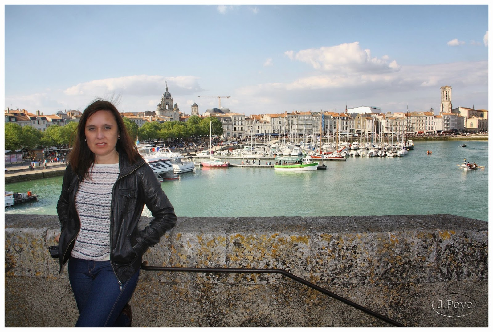 La Rochelle desde la Tour Saint Nicolas