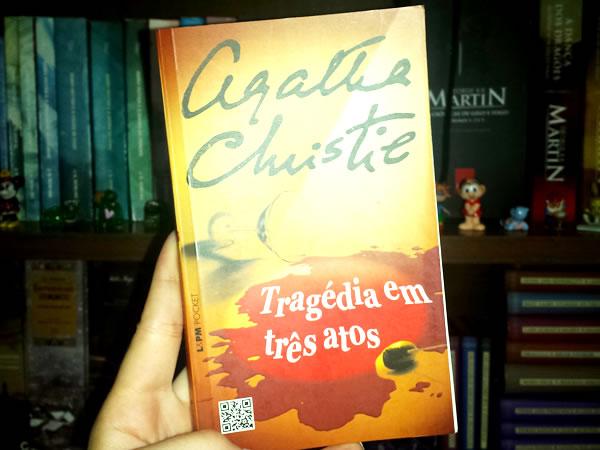 Livro Tragédia Três Atos Agatha Christie