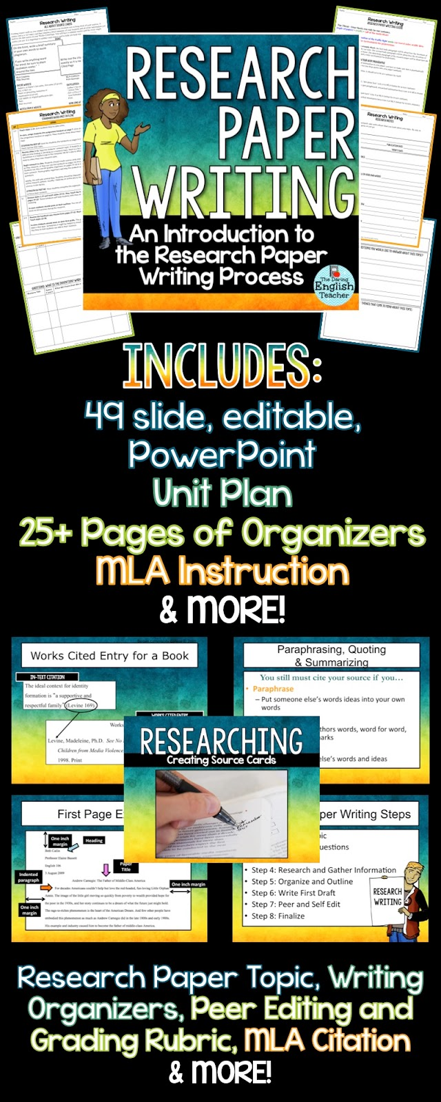 teaching writing research paper Find and save ideas about research paper on pinterest | see more ideas about writing editor, school study tips and back to school organization.