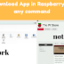How to Download App in Raspberry pi without any command