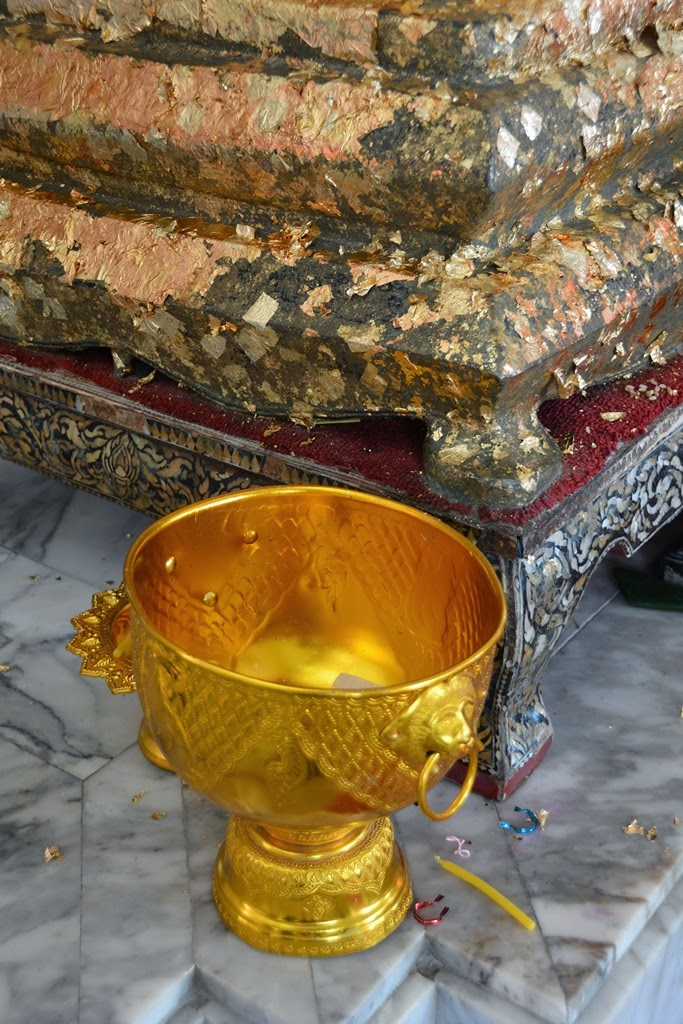 Wat Chalong Temple Phuket golden goblet