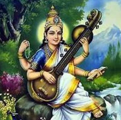 Saraswati Maa Picture