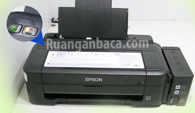 Memperbaiki Printer Epson Lampu Indikator Menyala tidak berkedip