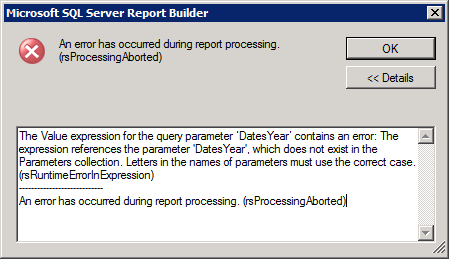 Common SSRS error Part-4 | One Stop SQL Server 2012 Online Repository