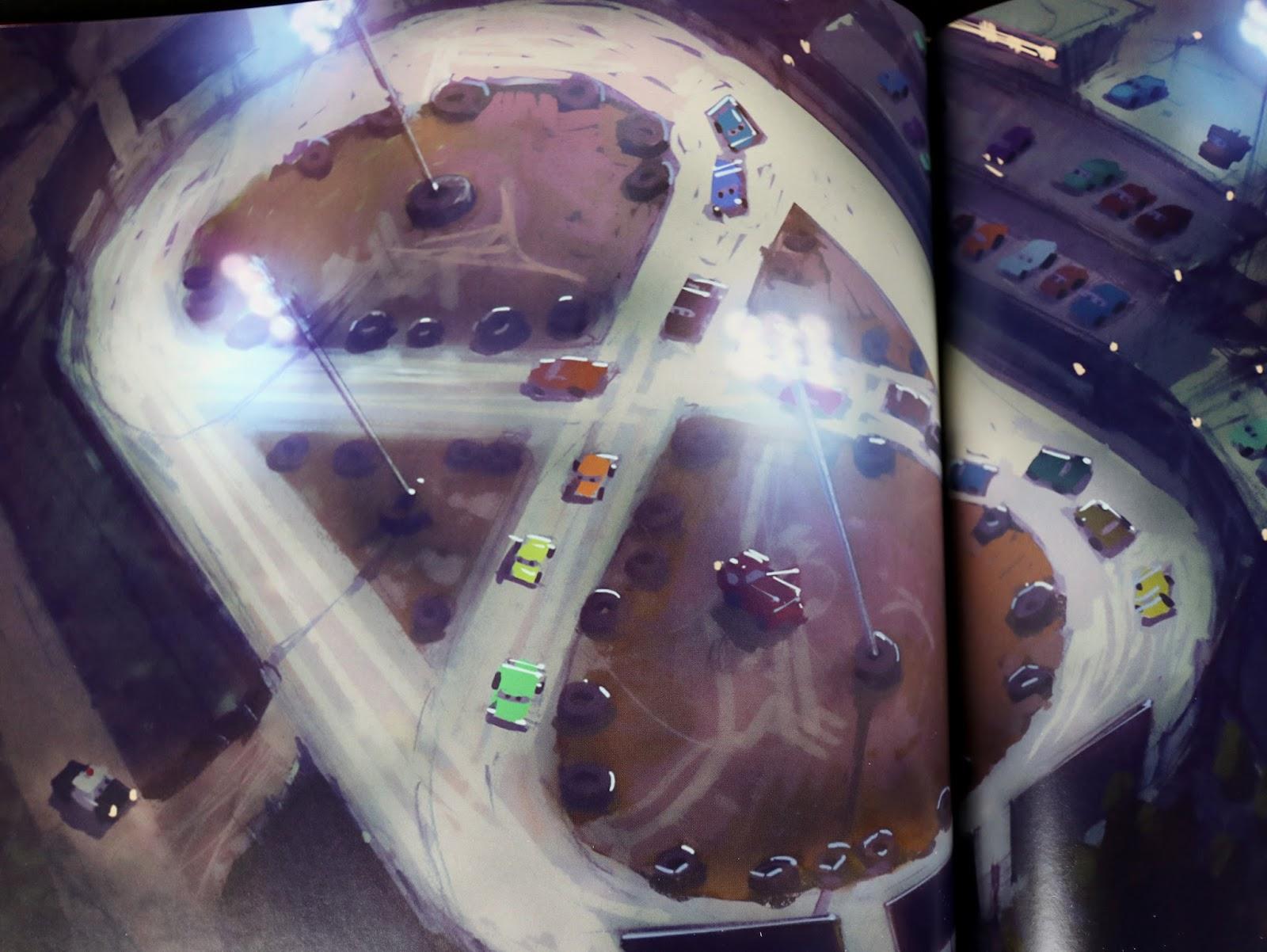pixar the art of cars 3 review