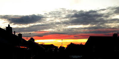 Sunset of Northallerton
