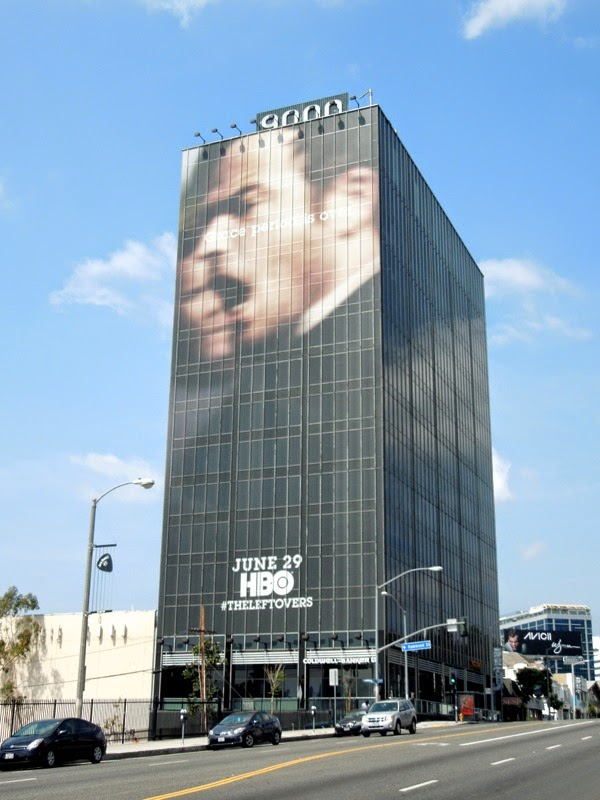 Leftovers season 1 giant HBO billboard