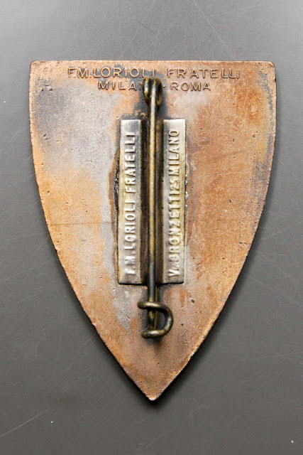 distintivo cuneense alpini csir armir ww2 italian badge FM lorioli Fratelli milano roma