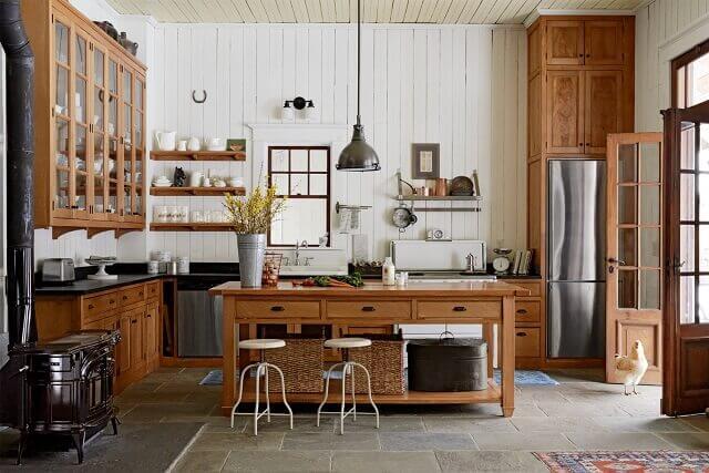 Country ev dekorasyonu örnekleri