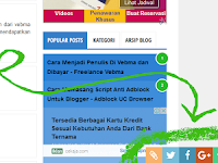 Cara Membuat Back To Top Button +  Menu SosMed Blog