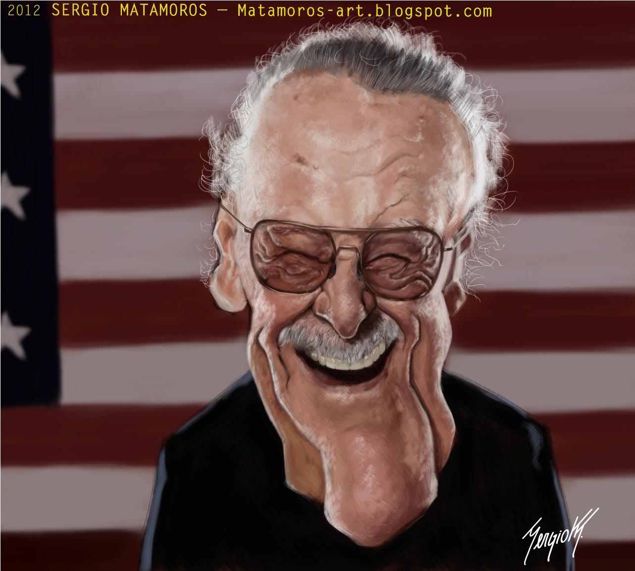 Stan Lee por Sergio Matamoros