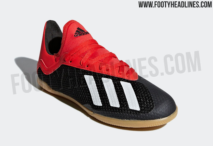 Black / White / Red Adidas X 18 'Initiator' Boots Leaked - Footy ...