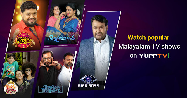 YuppTV Blog: Popular Malayalam TV shows on YuppTV Europe