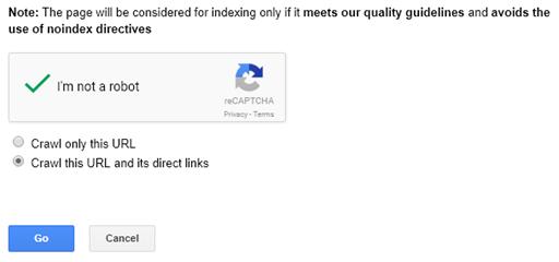 Explorer votre site web comme Google.