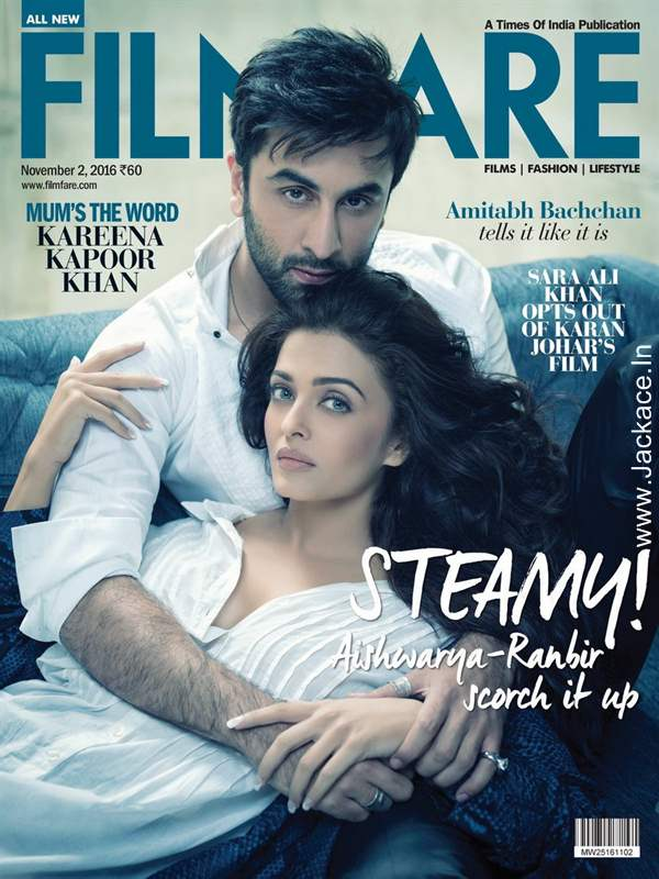 Ayan And Saba From Ae Dil Hai Mushkil Steam Up The Filmfare Cover