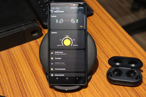 Samsung Wear App on Samsung Note 8