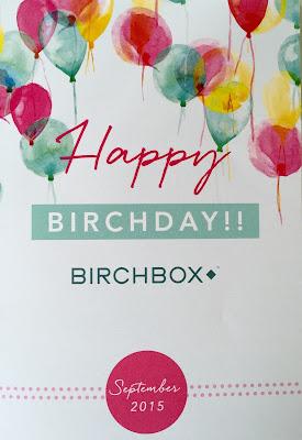 Happy Birchday Birchbox