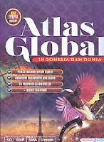 AJIBAYUSTORE  Judul Buku : Atlas Global Indonesia Dan Dunia – Edisi Terbaru Dan Lengkap – Besar