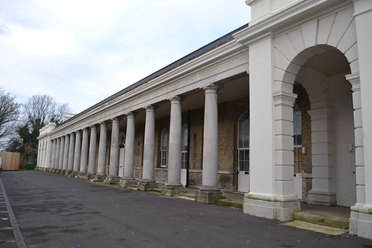 Restored Colonnade