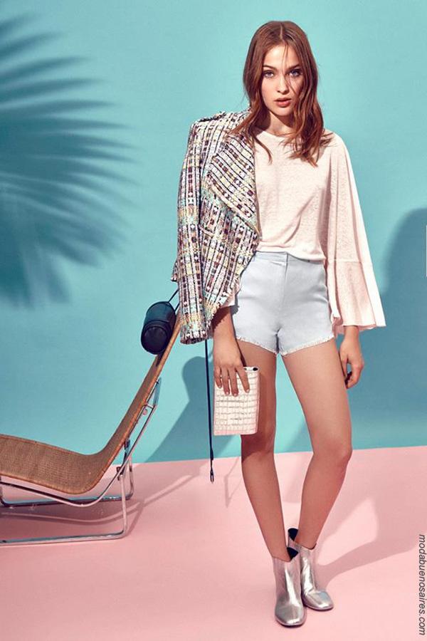 Moda primavera verano 2018 ropa de mujer. Moda 2018.