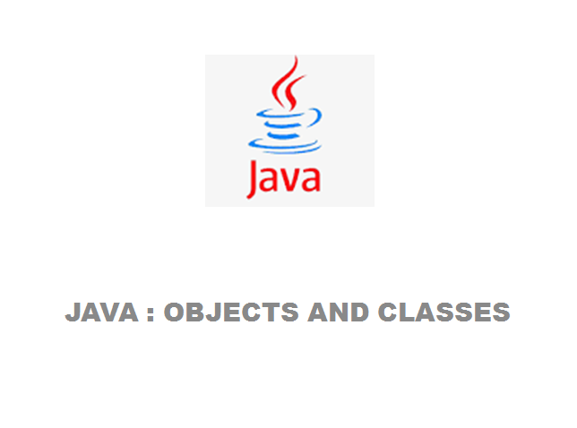 Objects and Class in java