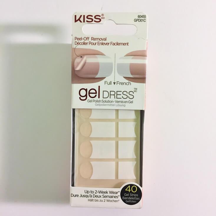 Kiss Gel Dress Glisten Up